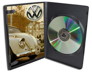 VW DVD Case to go with your restored bug